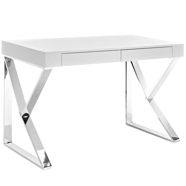 Adjacent Desk - White
