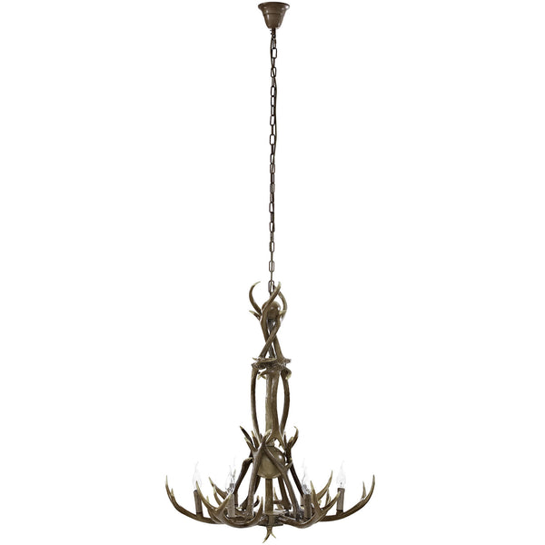 Charge Chandelier - Brown