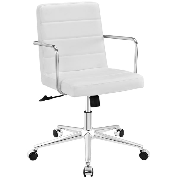Cavalier Mid Back Office Chair - White