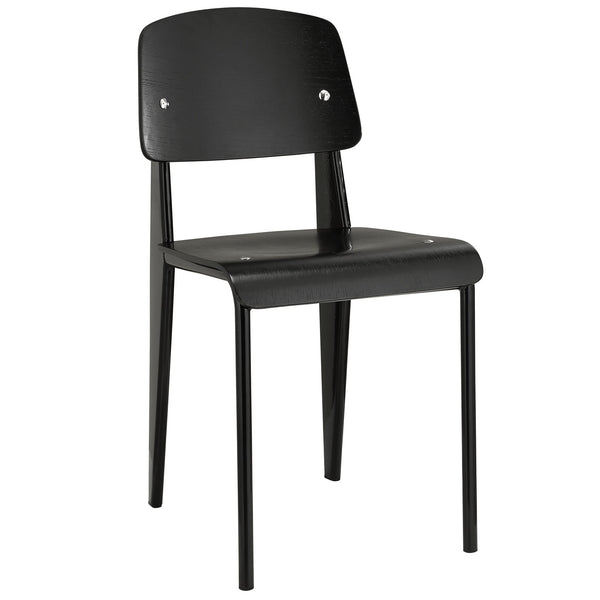Cabin Dining Side Chair - Black Black