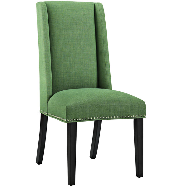Baron Fabric Dining Chair - Green