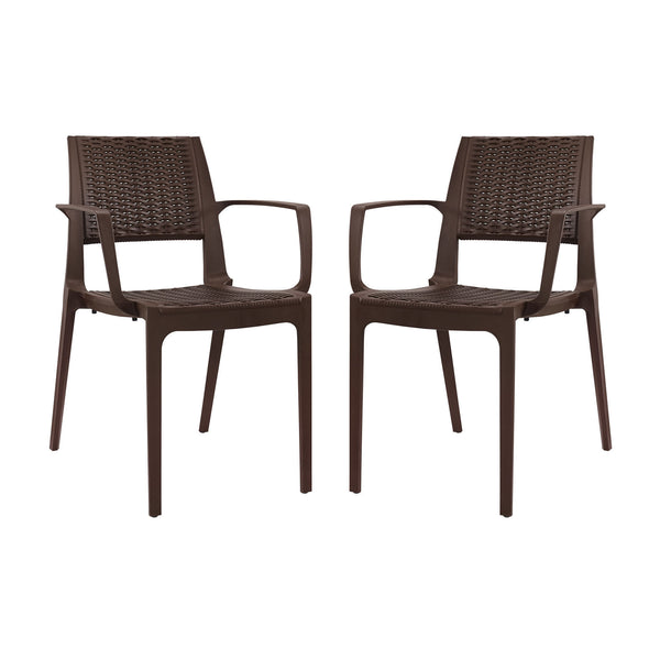 Astute Dining Set Set of 2 - Coffee