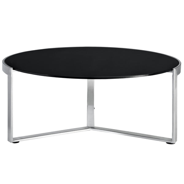Disk Coffee Table - Black
