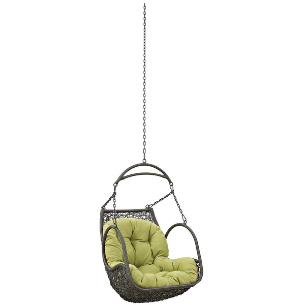 Arbor Outdoor Patio Swing Chair Without Stand - Peridot