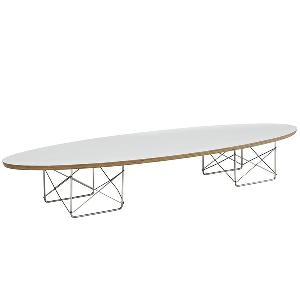 Eames Surfboard Coffee Table.Surfboard Coffee Table White