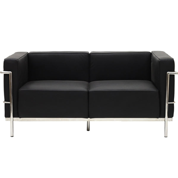Charles Grande Loveseat - Black