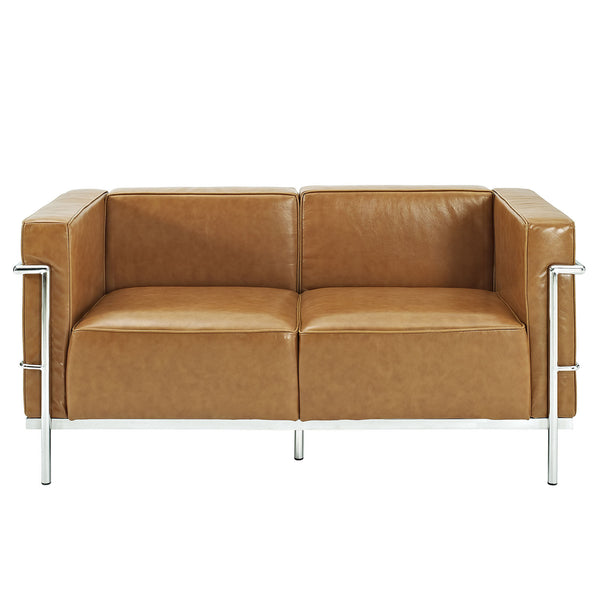 Charles Grande Loveseat - Tan