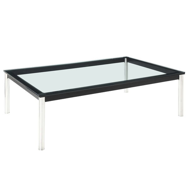 Charles Rectangle Coffee Table - Black