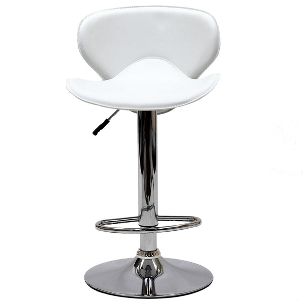Booster Bar Stool - White
