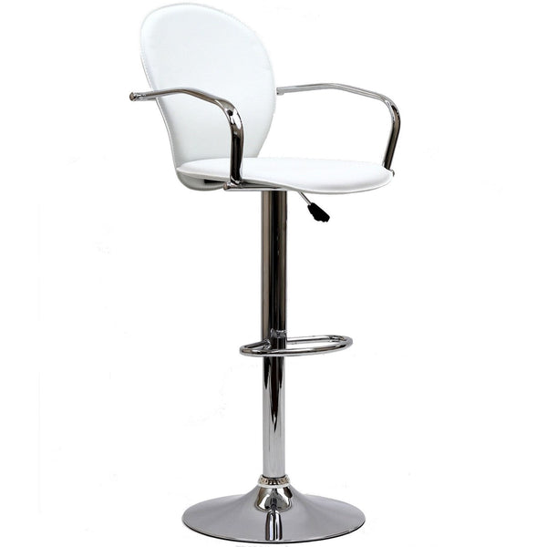 Captain Bar Stool - White