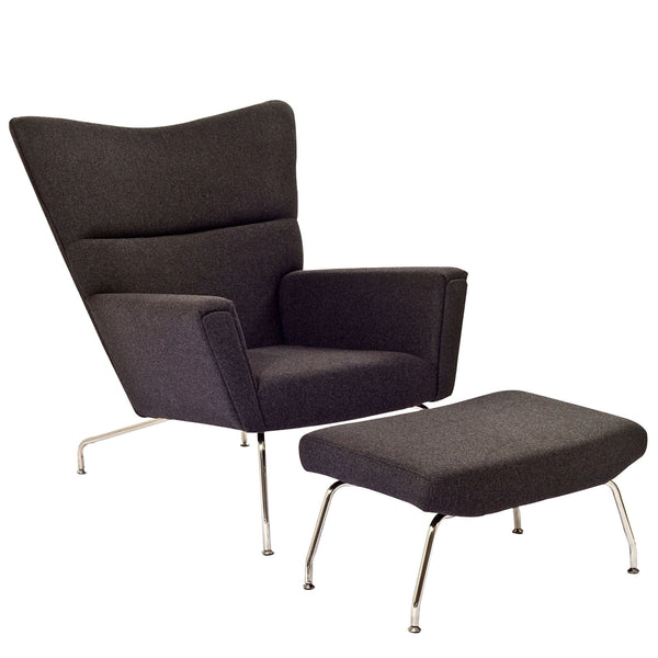 Class Lounge Chair - Dark Gray