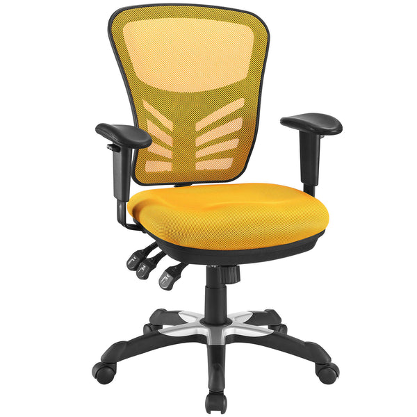 Articulate Mesh Office Chair - Orange