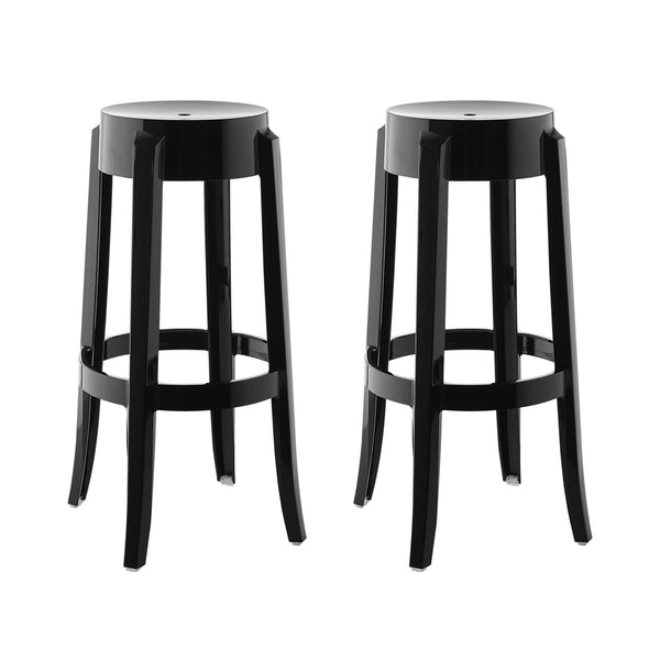 Casper Bar Stool Set of 2 - Black