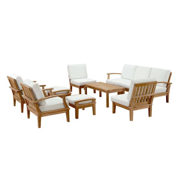 Harbor 10 Piece Outdoor Patio Teak Sofa Set