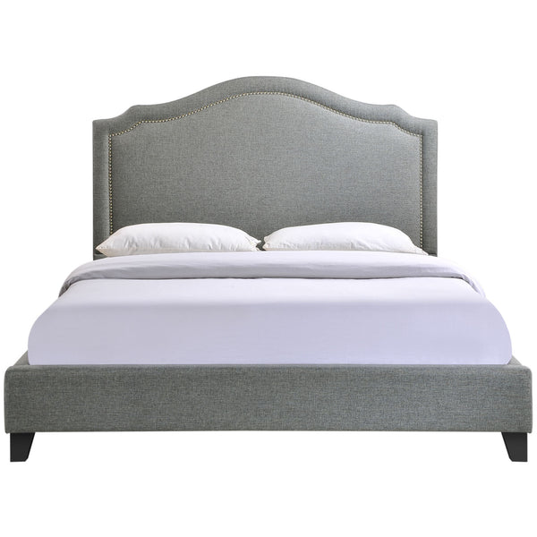 Charlotte Queen Bed - Gray