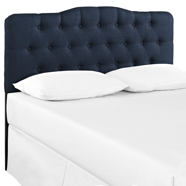 Annabel Full Fabric Headboard - Navy