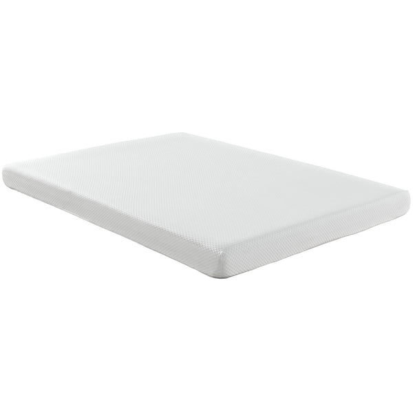 "Aveline 6"" Queen Mattress - White"