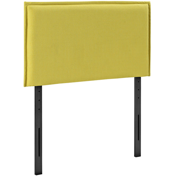 Camille Twin Fabric Headboard - Sunny