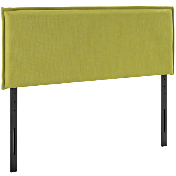Camille King Fabric Headboard - Wheatgrass