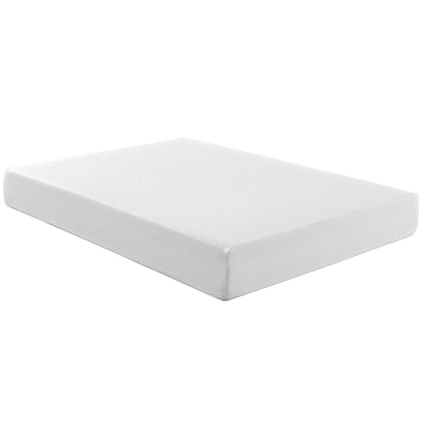 "Aveline 10"" Full Mattress - White"