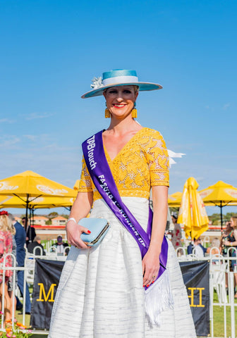 Andrea Buchanan runner up Kalgoorlie WA Fashions on the Field 2018