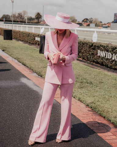 Emma Davenport Caufield Cup Fashion 2018 Maker Millinery