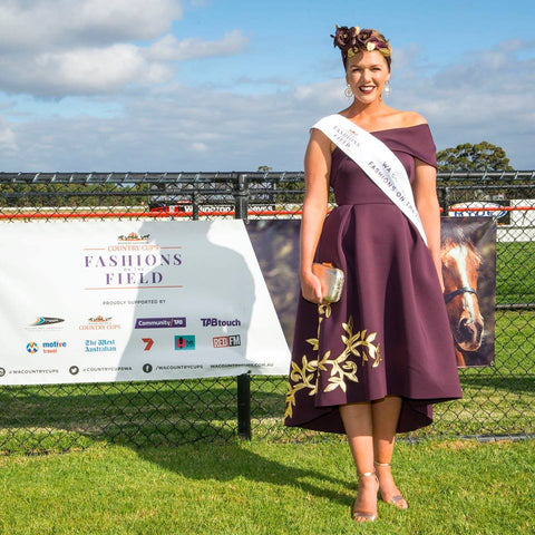 Samantha O'Neill WA Fashions on the Field Albany winner