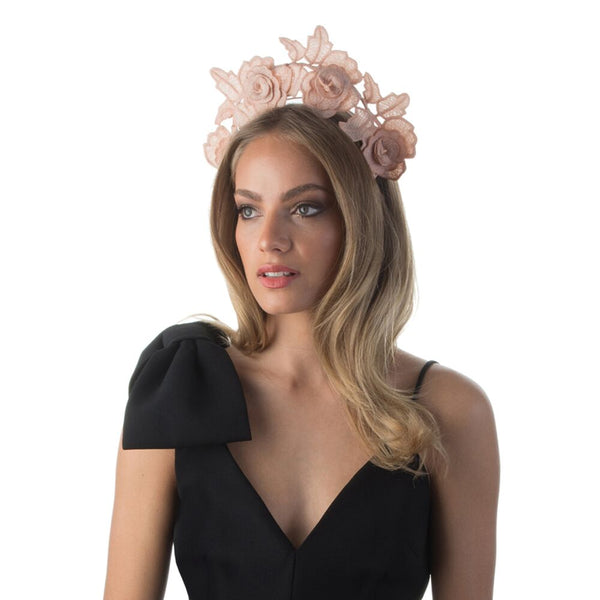 ARIEL LACE HALO - BLUSH
