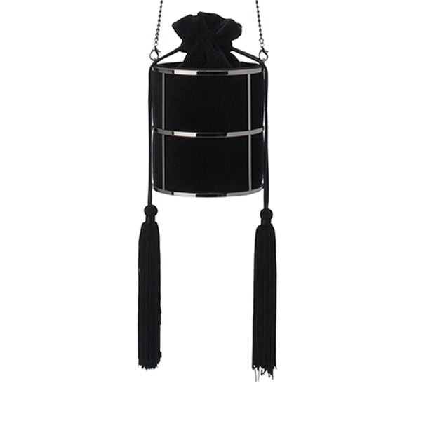 TASH CAGED DRAWSTRING BAG