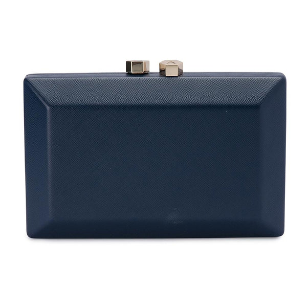 SASCHA PERSONALISED CLUTCH - NAVY