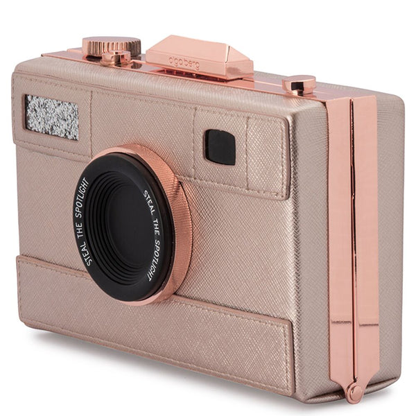 MADELYN CAMERA BAG - ROSE GOLD