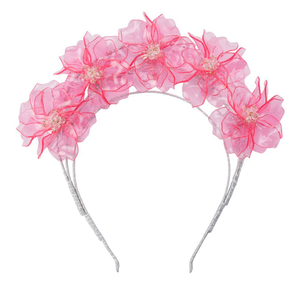 DELANEY ACRYLIC HEADBAND - PINK