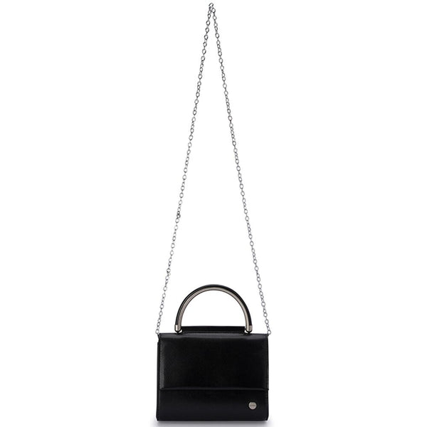 BLAIR TEXTURED MINI BAG - BLACK