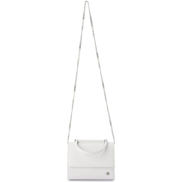 BLAIR TEXTURED MINI BAG - WHITE