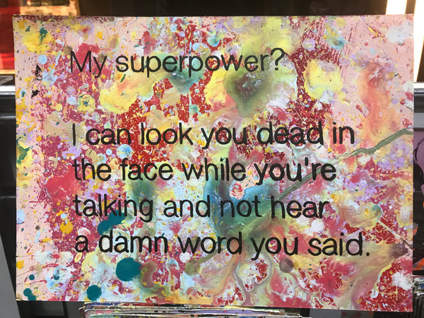 My Superpower 1..
