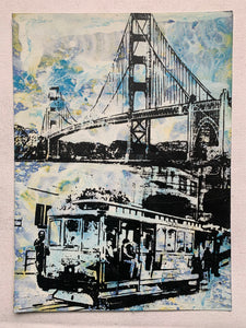 Golden Gate Bridge & Trolley (medium) - San Francisco