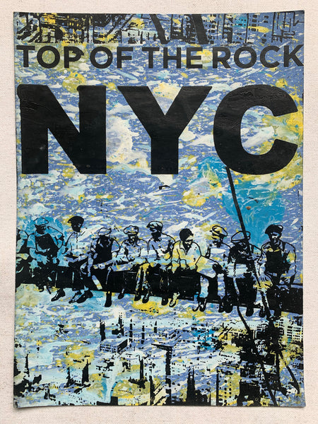 Top Of The Rock Ironworkers (medium) - NYC