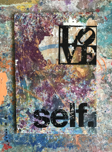 Love Self (2018)- Original Mixed Media Painting