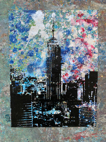Empire State Building NYC on Paper - Large