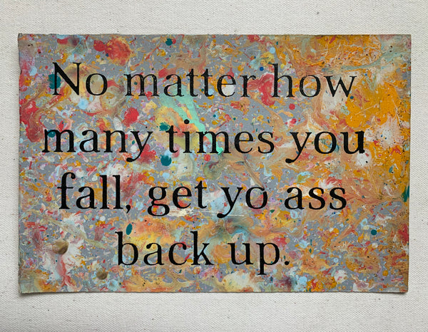 No Matter How Many Times...