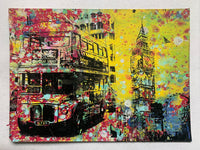 Double Decker Bus / Big Ben (medium) - London