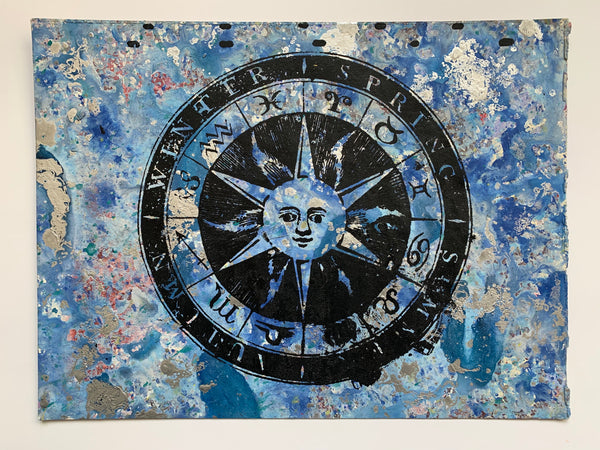 Sun / Zodiac (medium/ horizontal)