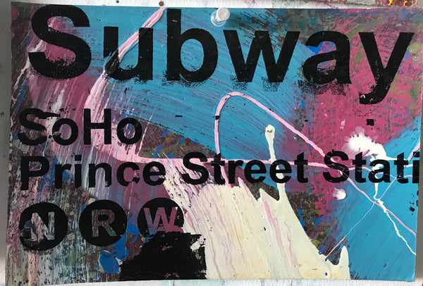 Soho - NYC Subway Sign