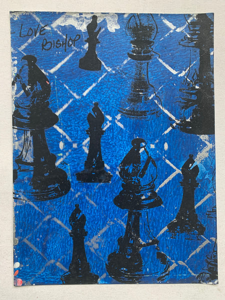 Bishop Chess Pieces (medium)