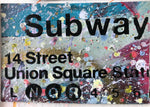 Union Square Subway Sign- NYC