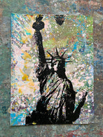 Statue of Liberty on Paper - Large
