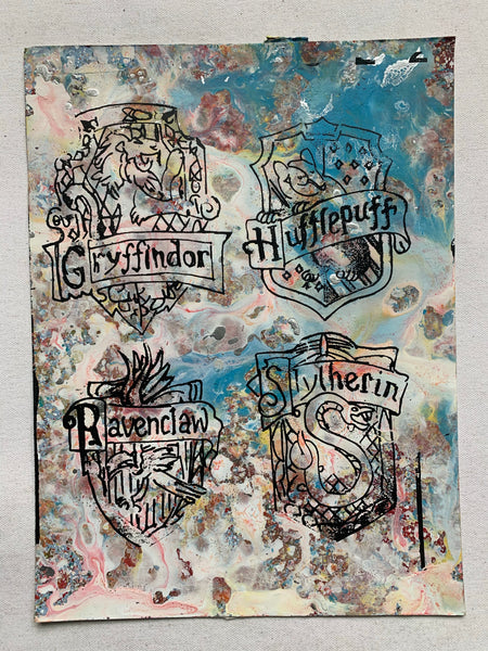 Harry Potter Crests (medium)