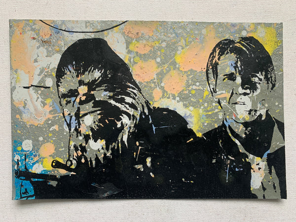 Hans Solo / Chewbacca - Star Wars