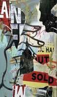 Outsold (2012)- Original Mixed Media Painting