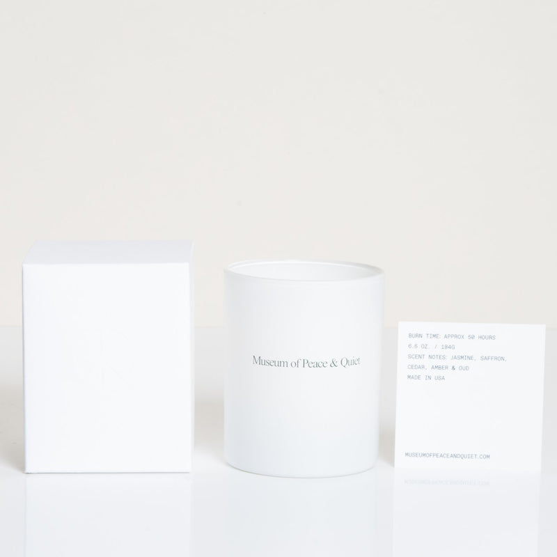 "Museum of Peace & Quiet <br> ""Quiet"" Candle"